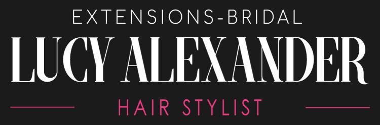 Lucy Alexander Hair - Wedding Hair Stylist and Hairdresser